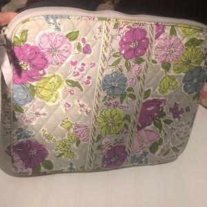 Vera Bradley Gray Floral Watercolor Computer Case